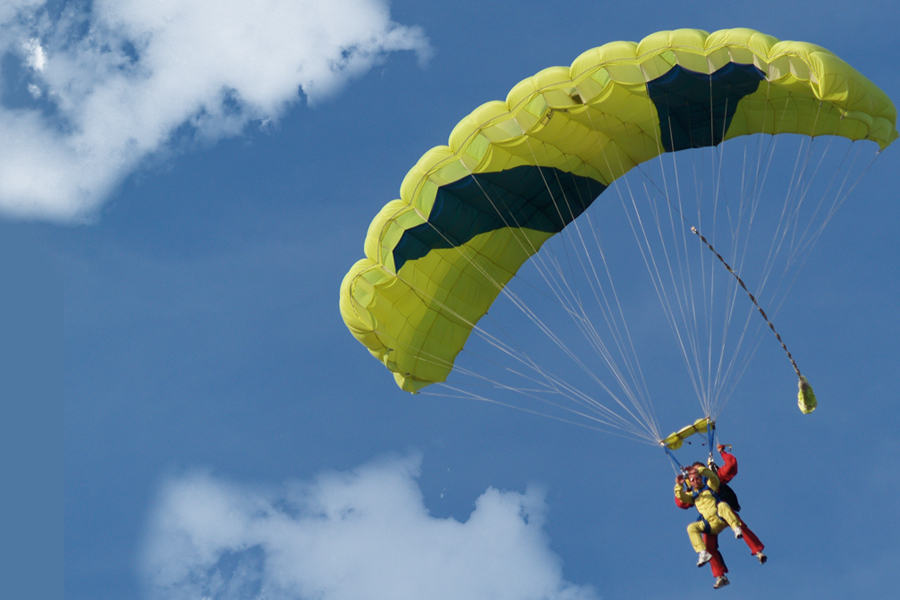 Aventure parachutisme saut en parachute tandem - Saut en parachute bretagne pas cher ...